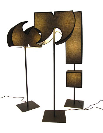 Punctuation Lamps