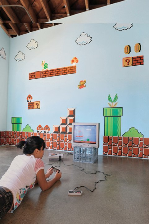 Merveilleux Video Game Wall Decals ...