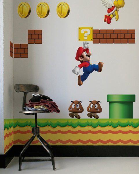 Great Video Game Wall Decals ... Part 17