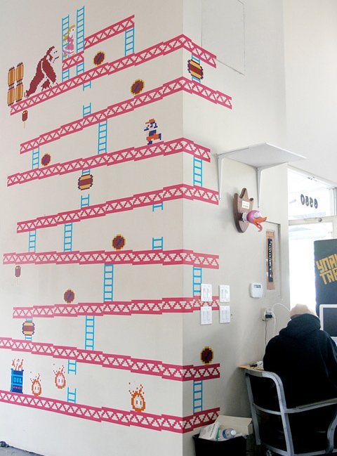 Charming Video Game Wall Decals Part 9