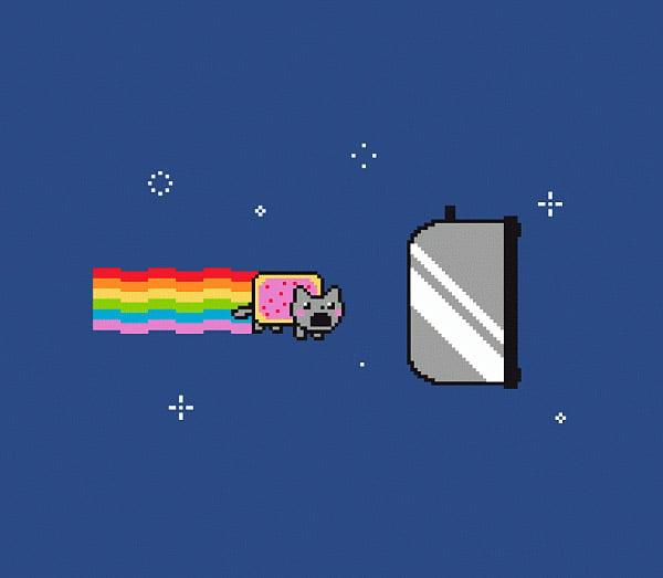 Nyan Is Toast T Shirt