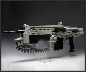 Lego Gears of War Lancer MK2