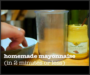 Make Mayo in Minutes