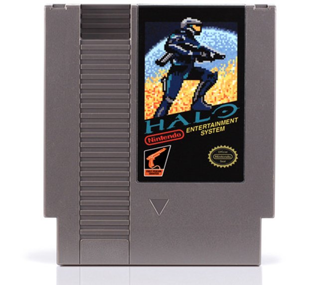 72 Pins NES Cartridge Art
