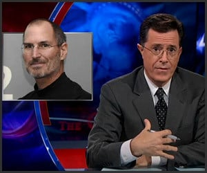 Colbert's Steve Jobs Tribute