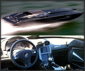 Zr48 Mti Corvette Speedboat