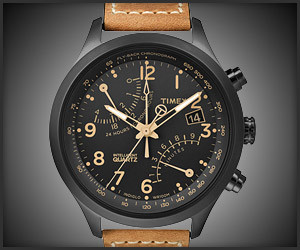 Timex IQ Fly-Back Watch