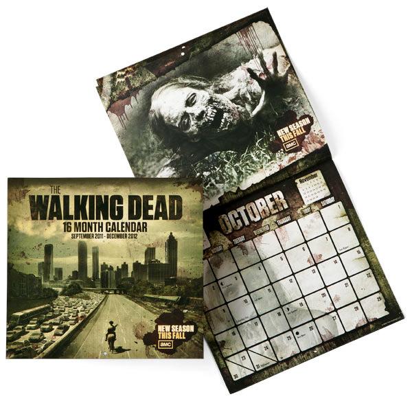 Walking Dead Wall Calendar