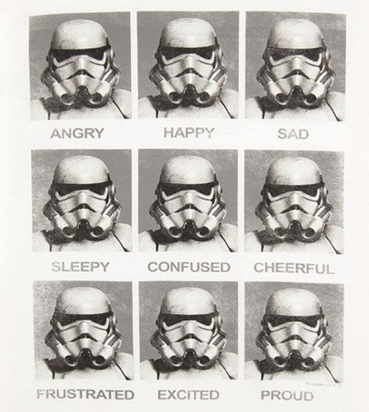 Stormtrooper Emotions (T-Shirt)