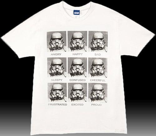 Stormtrooper Emotions (T-Shirt)