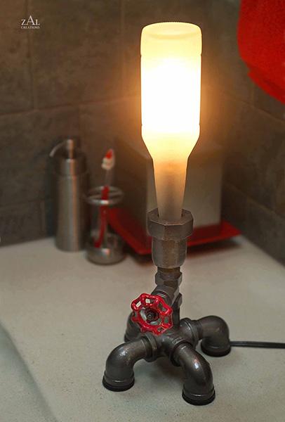 Bottle & Plumbing Lamps
