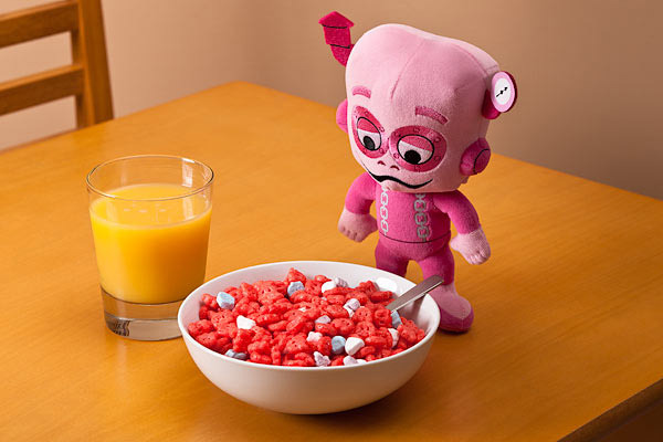 Plush Cereal Monsters