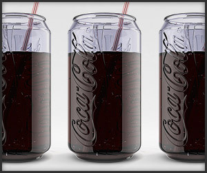 Coca-Cola Can Glass