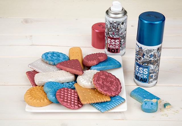 Food Finish Edible Spray Paint