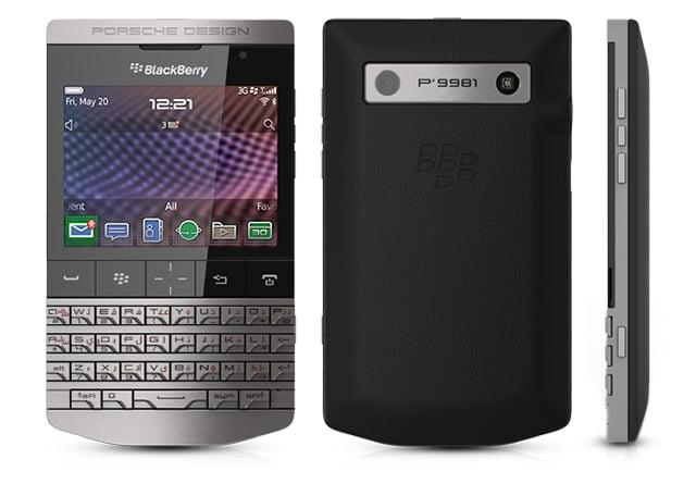 Porsche Design x Blackberry
