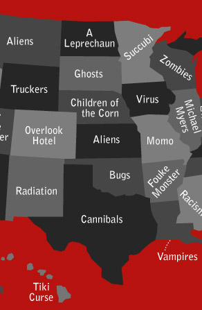 Scary State Infographic