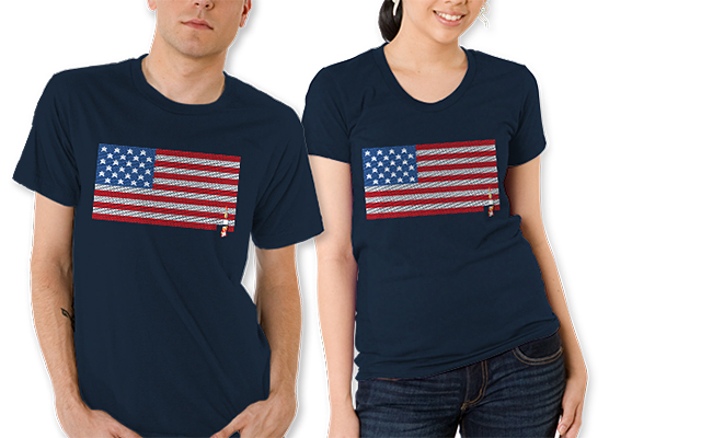Stars & Stripes & Bricks Tee