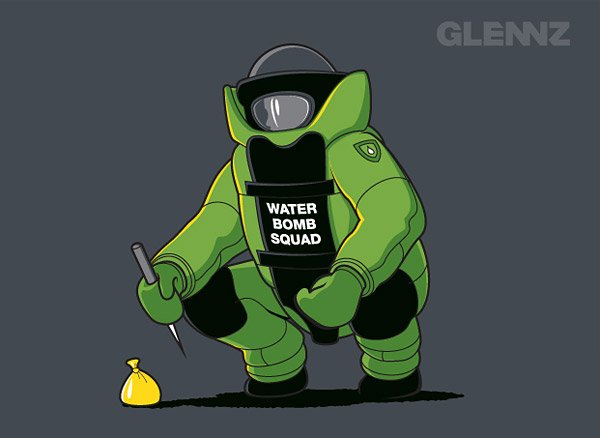 Water Bomb Squad (T-Shirt)