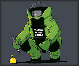 Water Bomb Squad (T-Shirt)