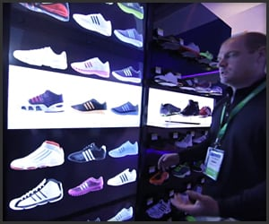 Adidas Virtual Footwear Wall