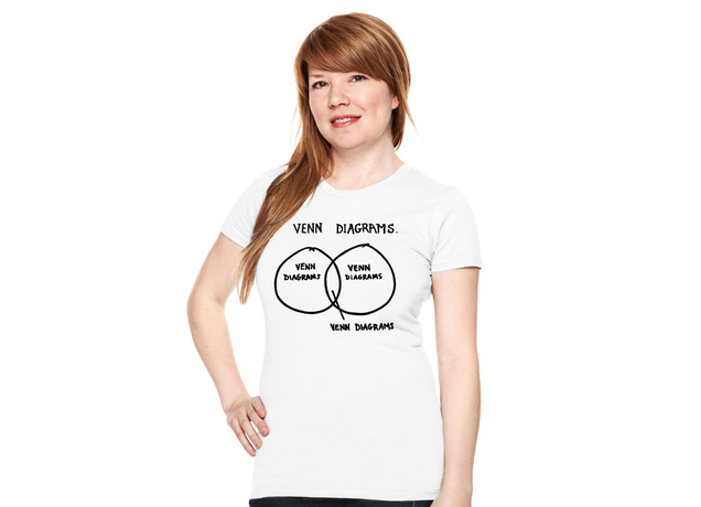 Venn Diagrams T-Shirt