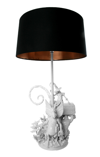 Lamps by Evil Robot Designs