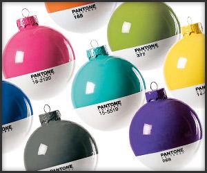 Pantone Xmas Ornaments