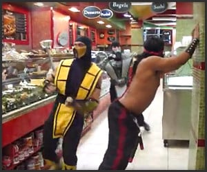 Mortal Kombat Flash Dance