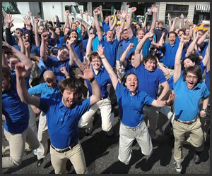 Best Buy Blue Shirts