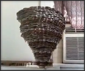 Crazy Coin Stacking