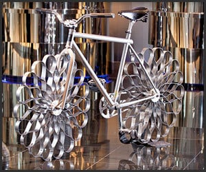 Sprung Steel Wheel Bicycle