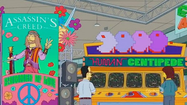 Simpsons E3 Parody