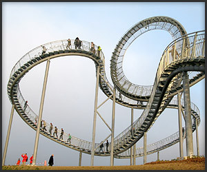The Walking Roller Coaster