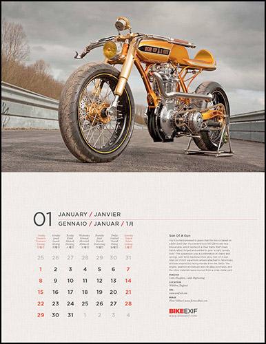 2012 BikeEXIF Calendar