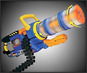 Air Zone Punisher Gun http://theawesomer.com/airzone-punisher-gatling-blaster/135921/
