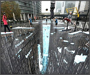 World's Largest 3D Street Art