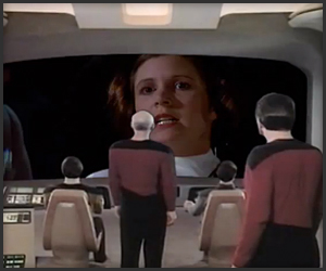 Enterprise Watches Star Wars