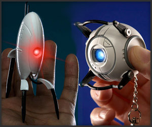 Wheatley and Turret Flashlights