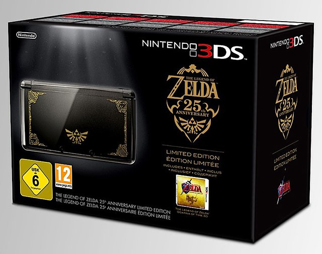 Nintendo 3DS Zelda Bundle