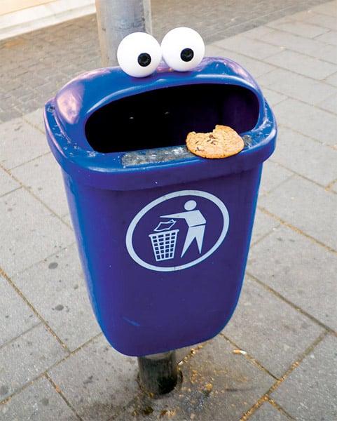 Googly Eye Street Art