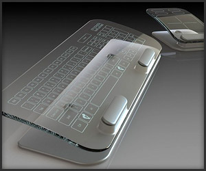Glass Multi-Touch Peripherals