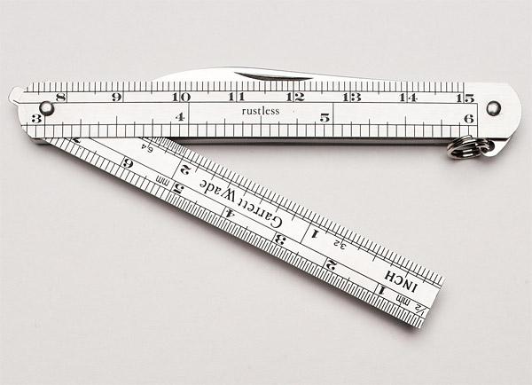 Knife/Ruler Combo