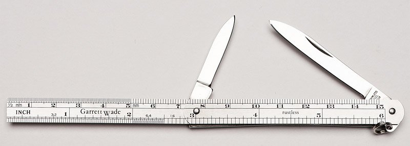 Knife/Ruler Combo
