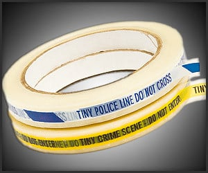 Tiny Police & Crime Scene Tape