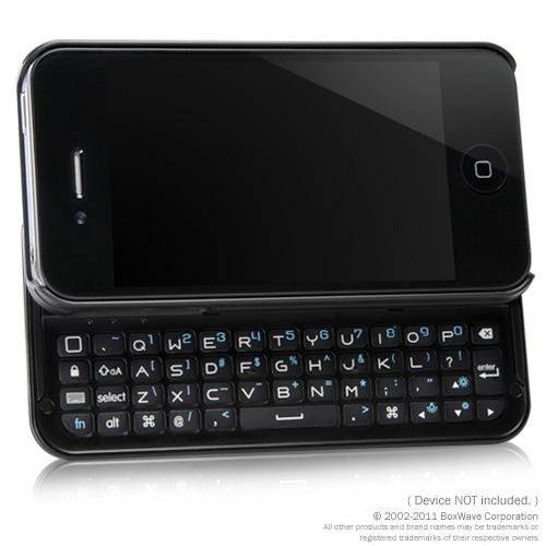 Backlit iPhone Keyboard Buddy