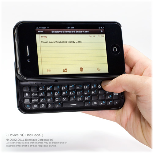 Backlit iPhone Keyboard Buddy
