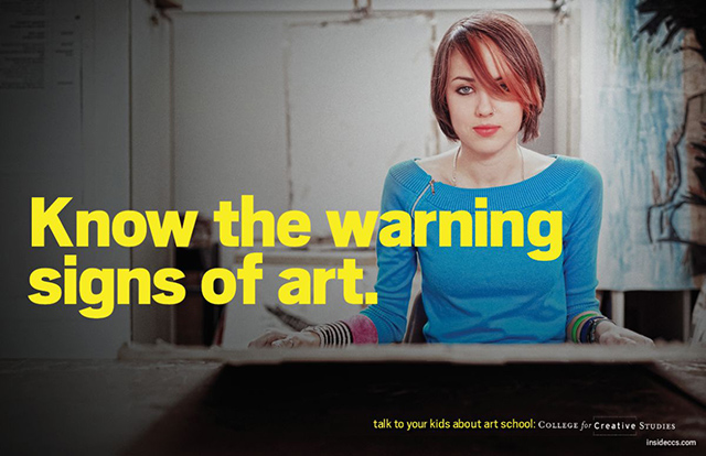 The Warning Signs of Art
