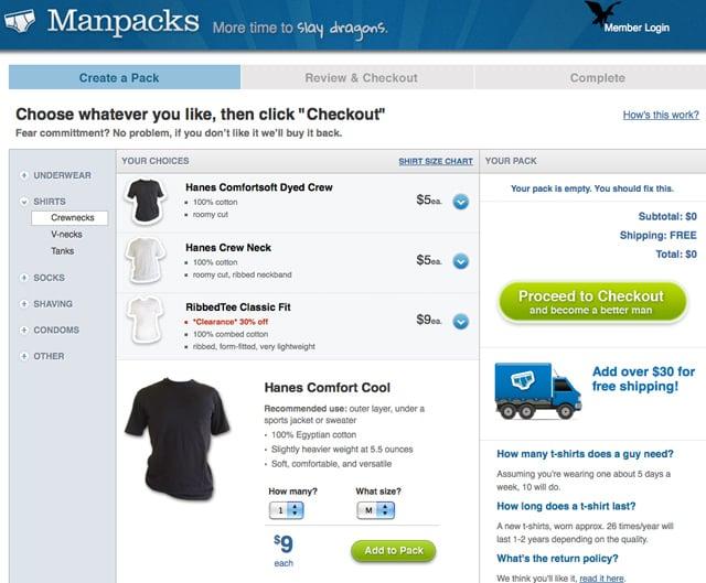 Manpacks