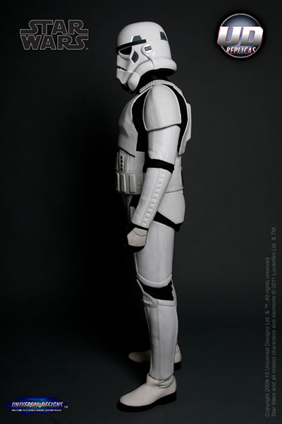 Stormtrooper Motorcycle Suit