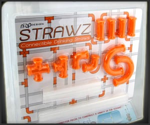 Connectible Drinking Straws